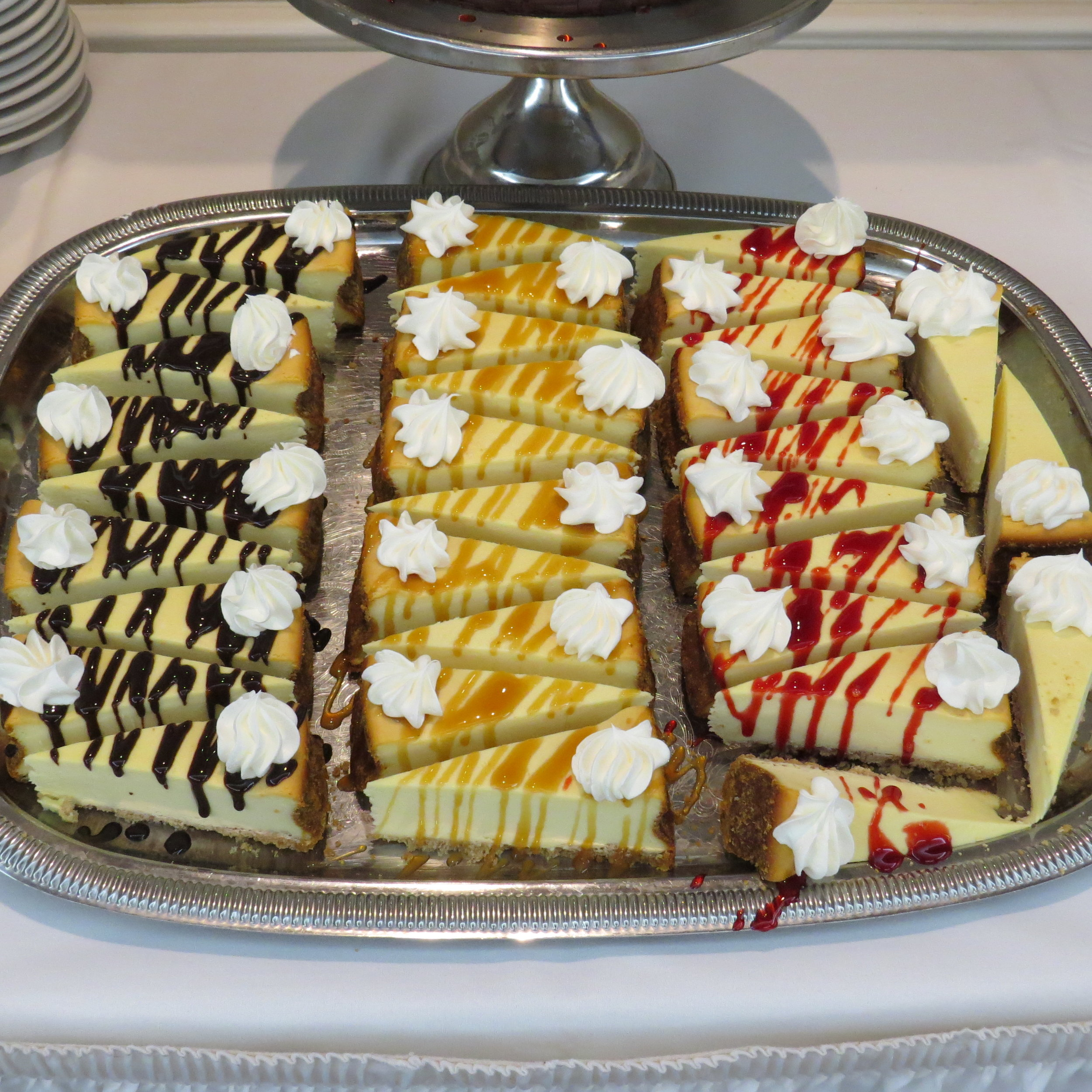 Cheese cake sampler
