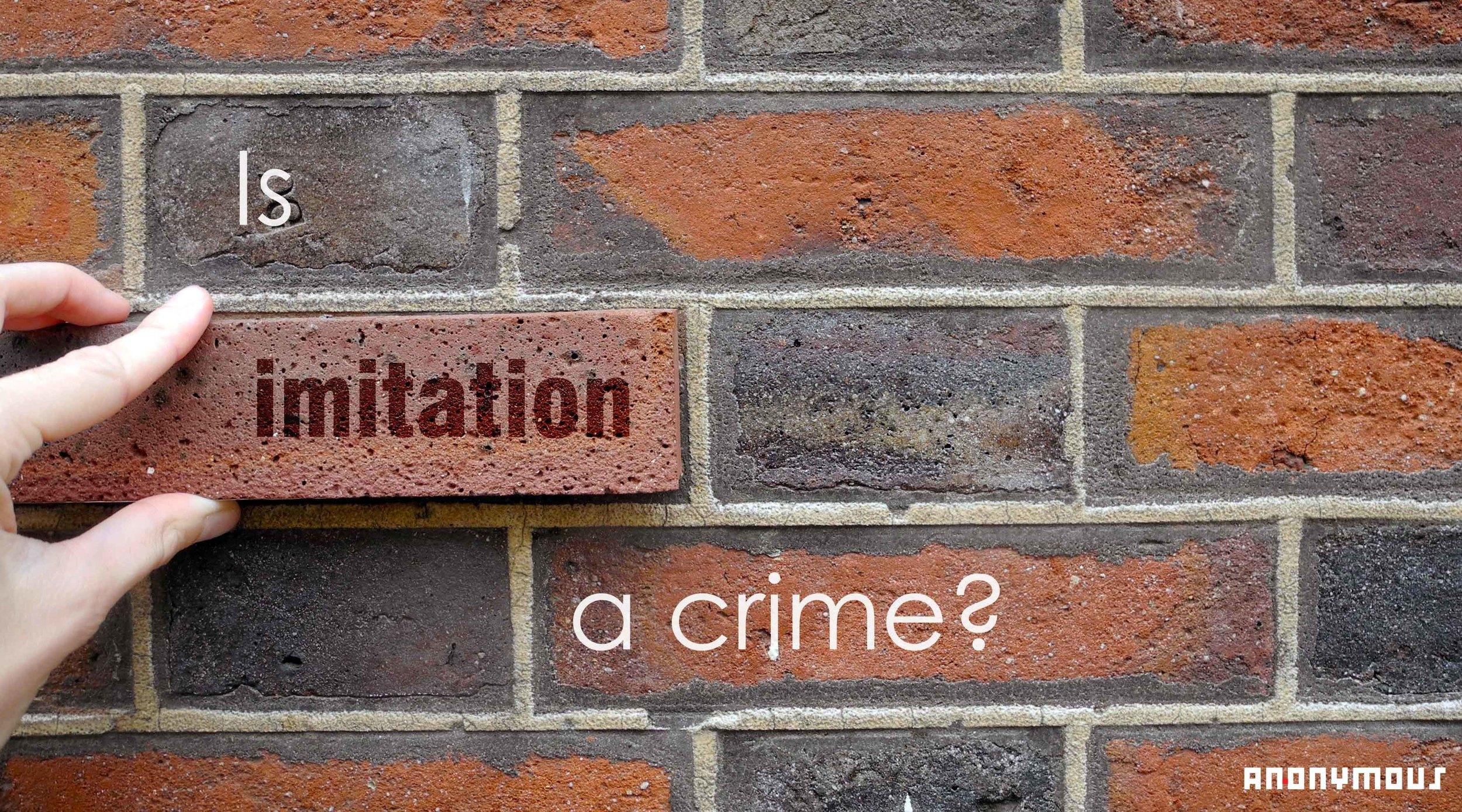 Imitation crime