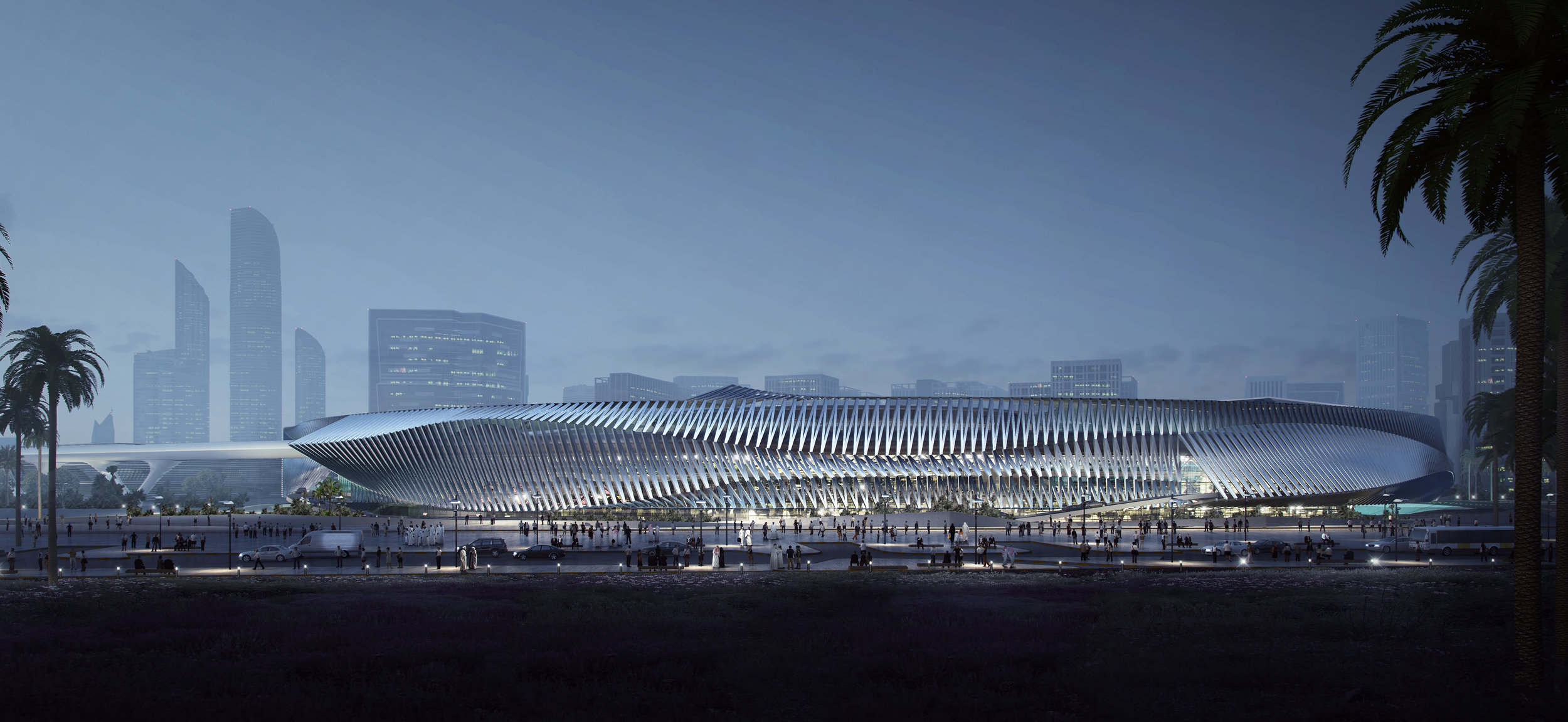 AN.ONYMOUS HYPERLOOP ABU DHABI STATION