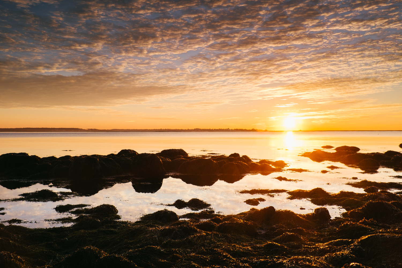 Another sunrise over Stonington Point
