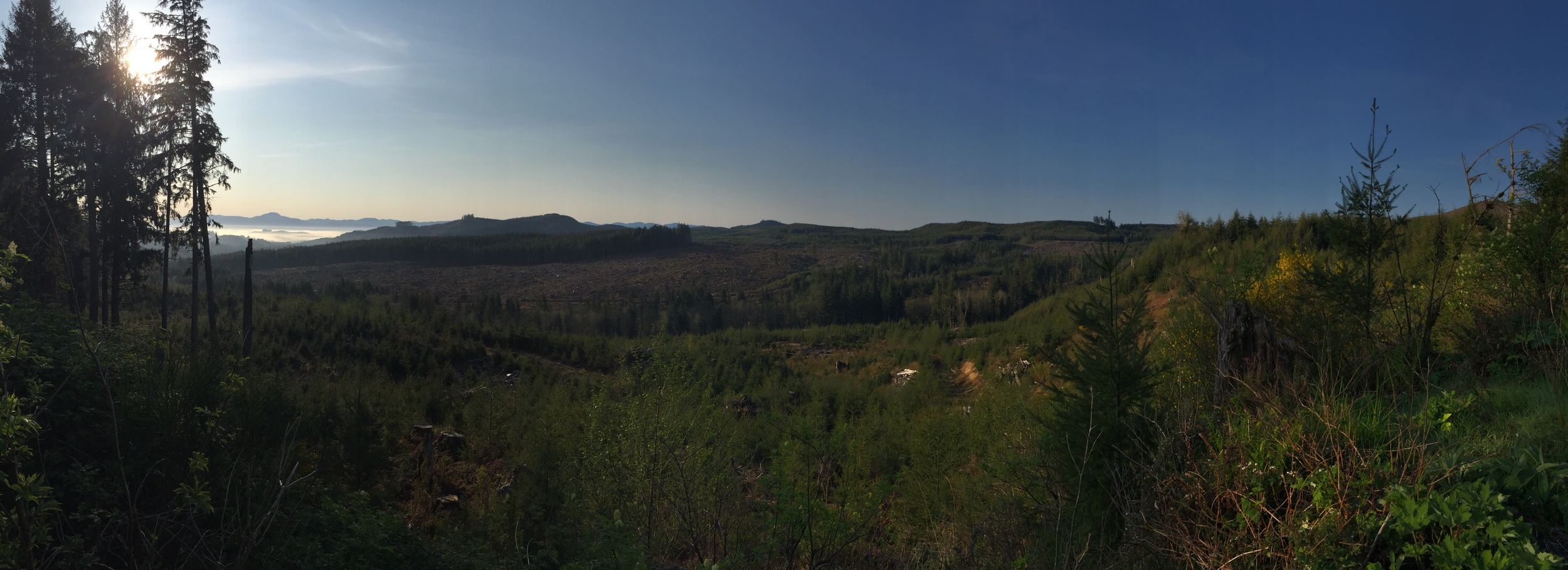 Panorama from Highway 26