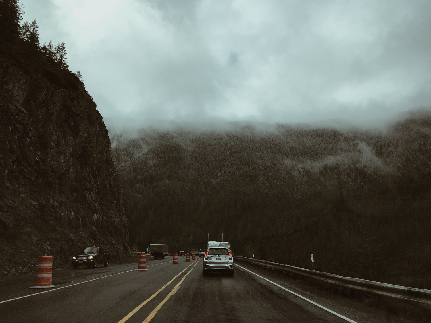 Route 26 in the Cascades