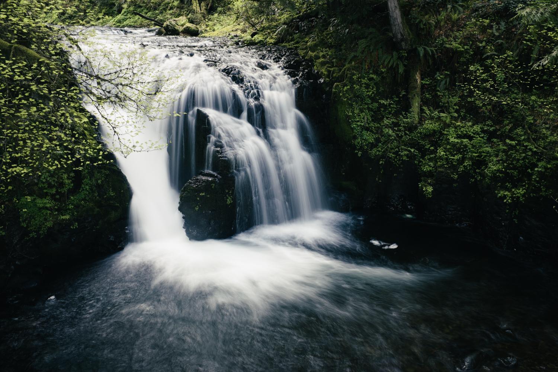 Multnomah Falls, from the top