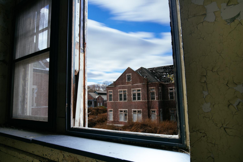 Long exposure through a window