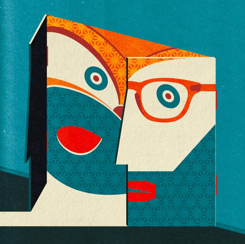 Project:  Past Voices (I), 2013.  Client:  New Scientist