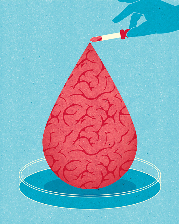 Project:  Memory aid: Stanford researchers have found that blood from newborn humans can rejuvenate learning and memory in aged mice, a discovery that could lead to new treatments for age-associated declines in mental ability.  Client:  Stanford Medicine, 2017