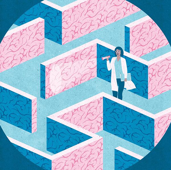 "Project:  Intersex Brain ( Is There a ""Female"" Brain?)   Client: Scientific American, 2017"