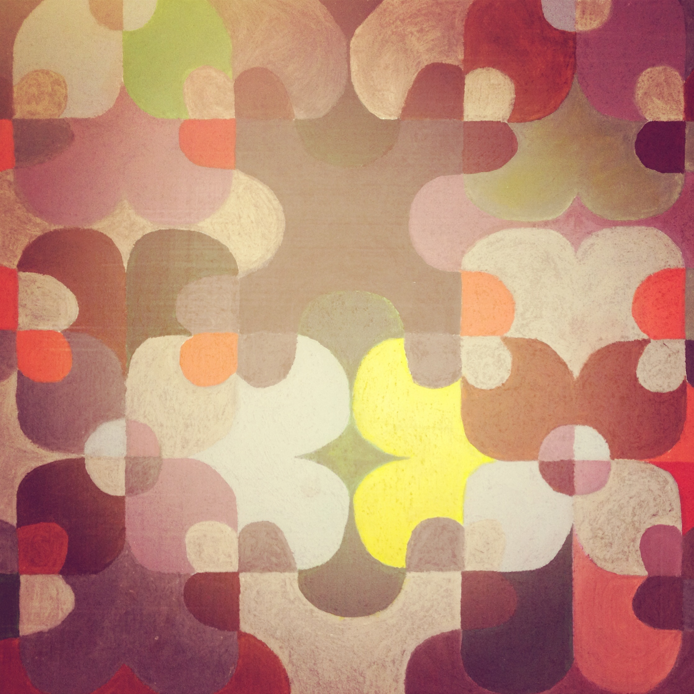 Frieze, Acrylic on canvas
