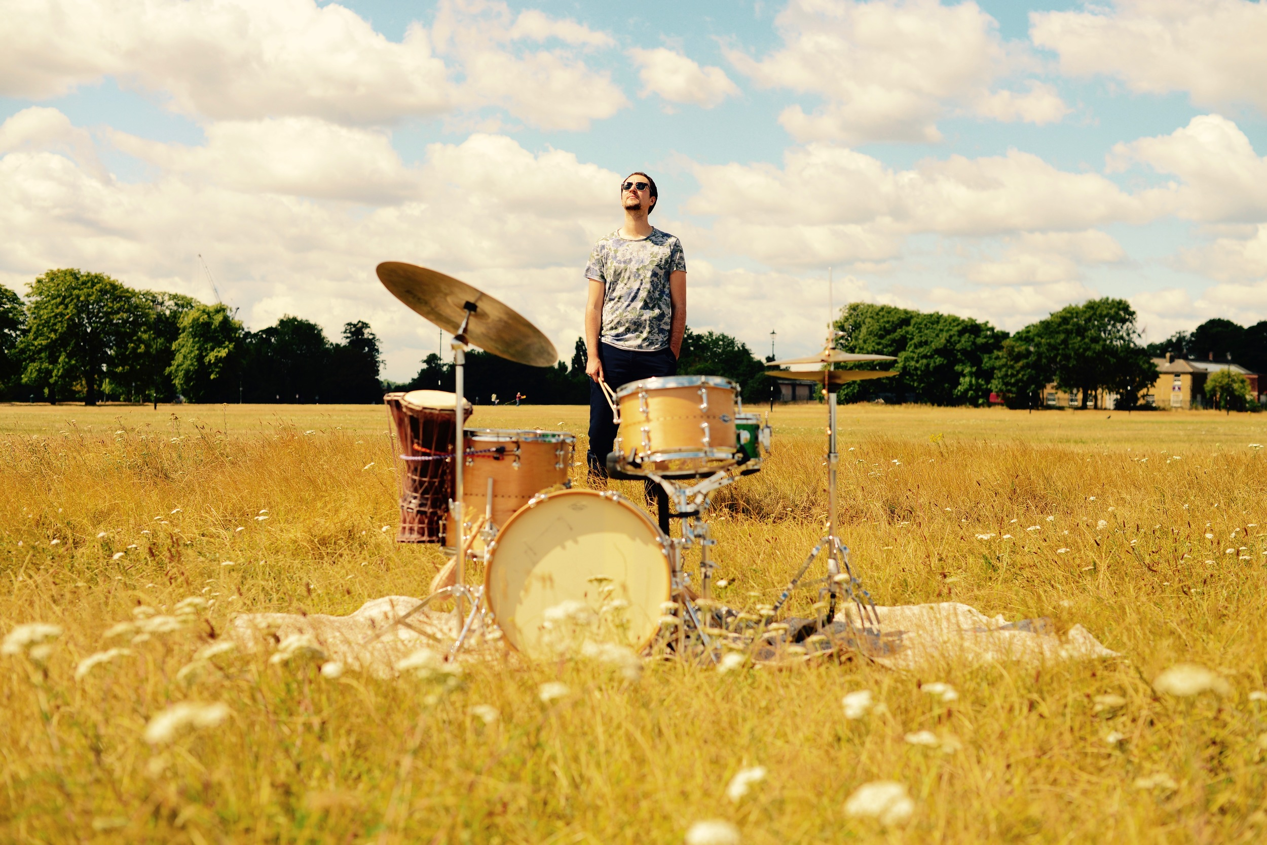 Promo shot for  Composer, bandleader and award winning musician C orrie Dick http://www.corriedick.com/