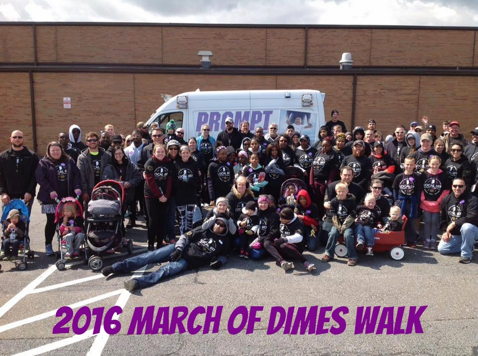 March of Dimes Team
