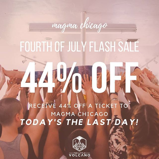 TODAY IS THE LAST DAY TO GET 44% OFF MAGMA Chicago Tickets! ✨MAGMA Chicago August 5-8✨  Comment below with a 🌈 and I'll send you a link!
