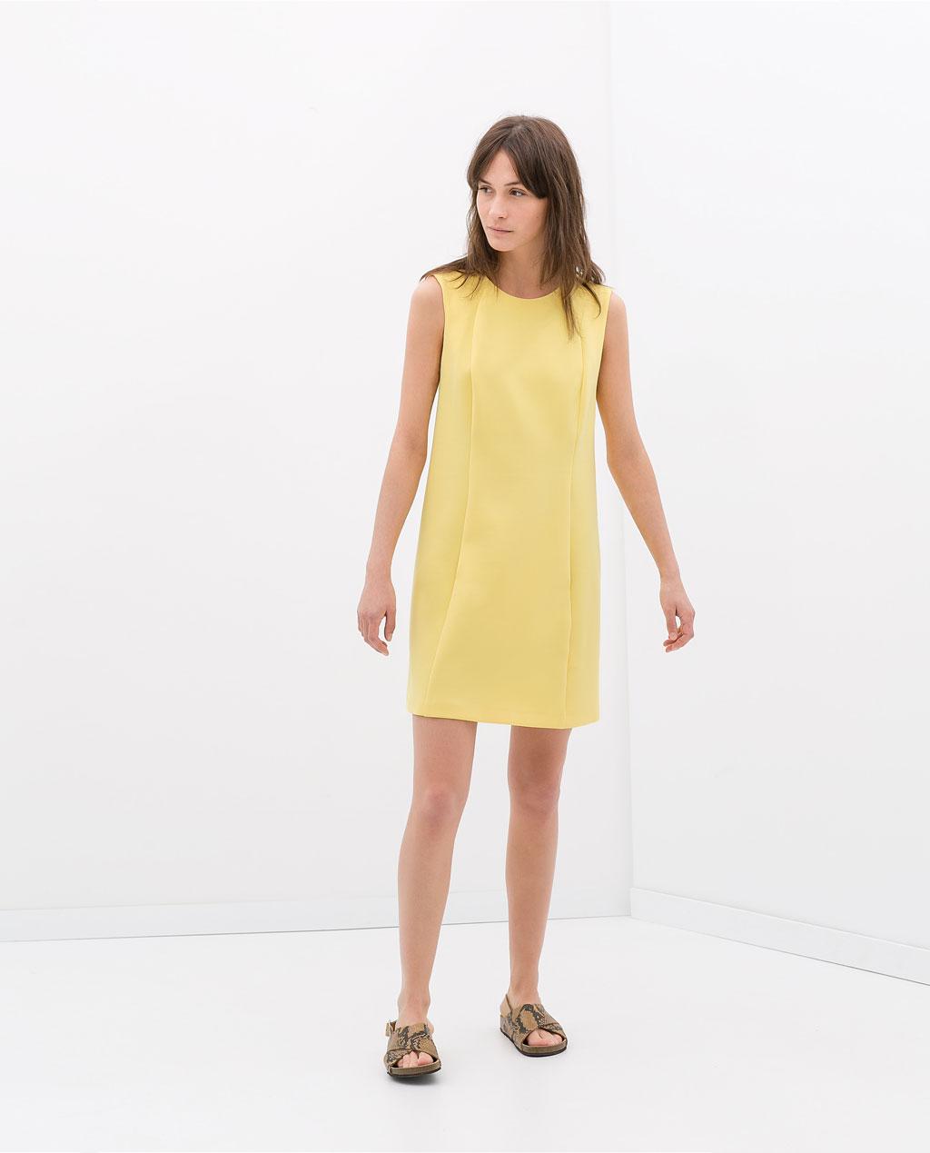 Dress with pockets, £45.99, Zara