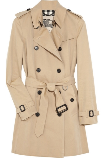 Burberry - The Kensington Mid-Length Heritage Trench Coat £1095 also in Black or Stone.