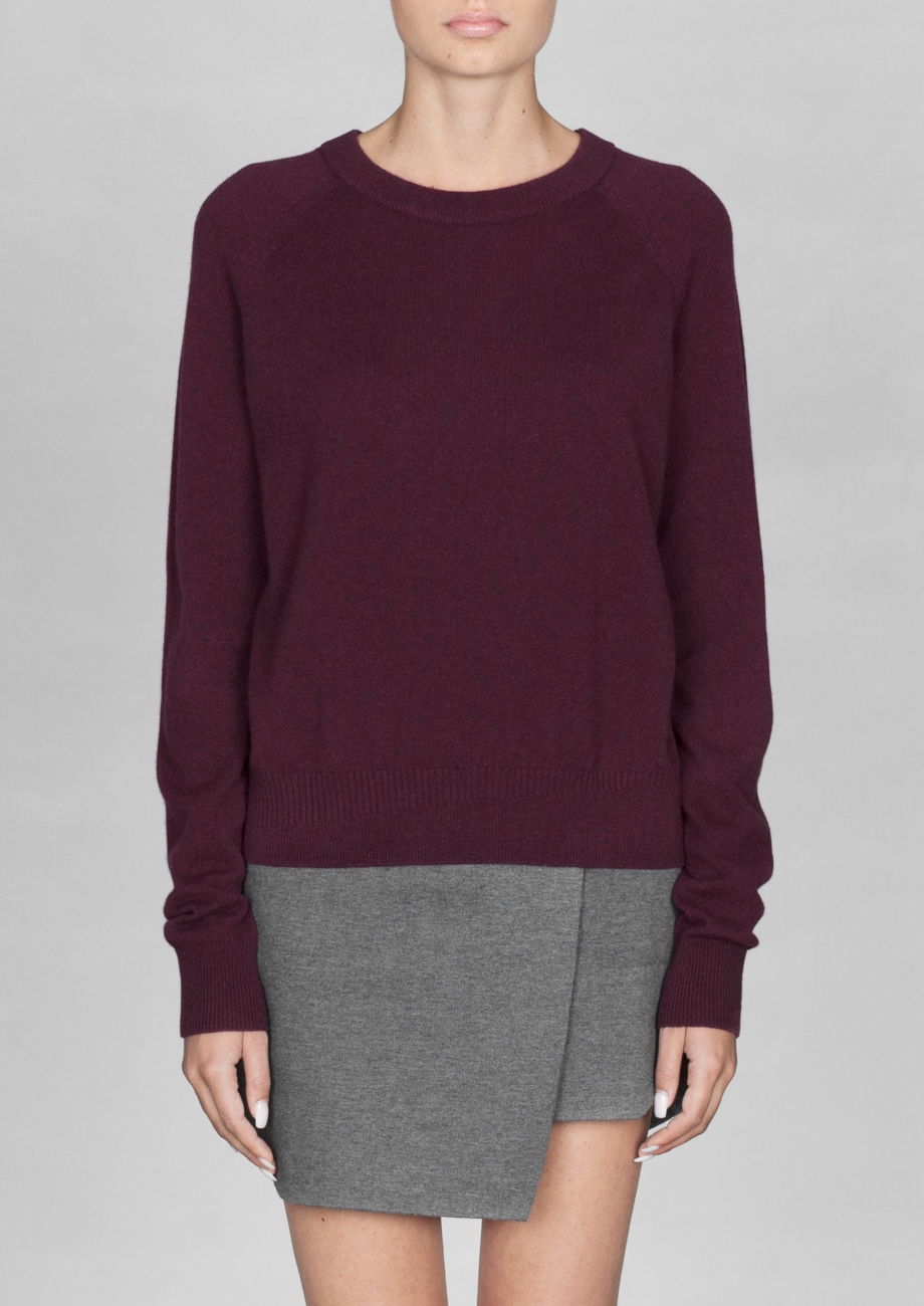 & Other Stories - Cashmere Sweater £95.