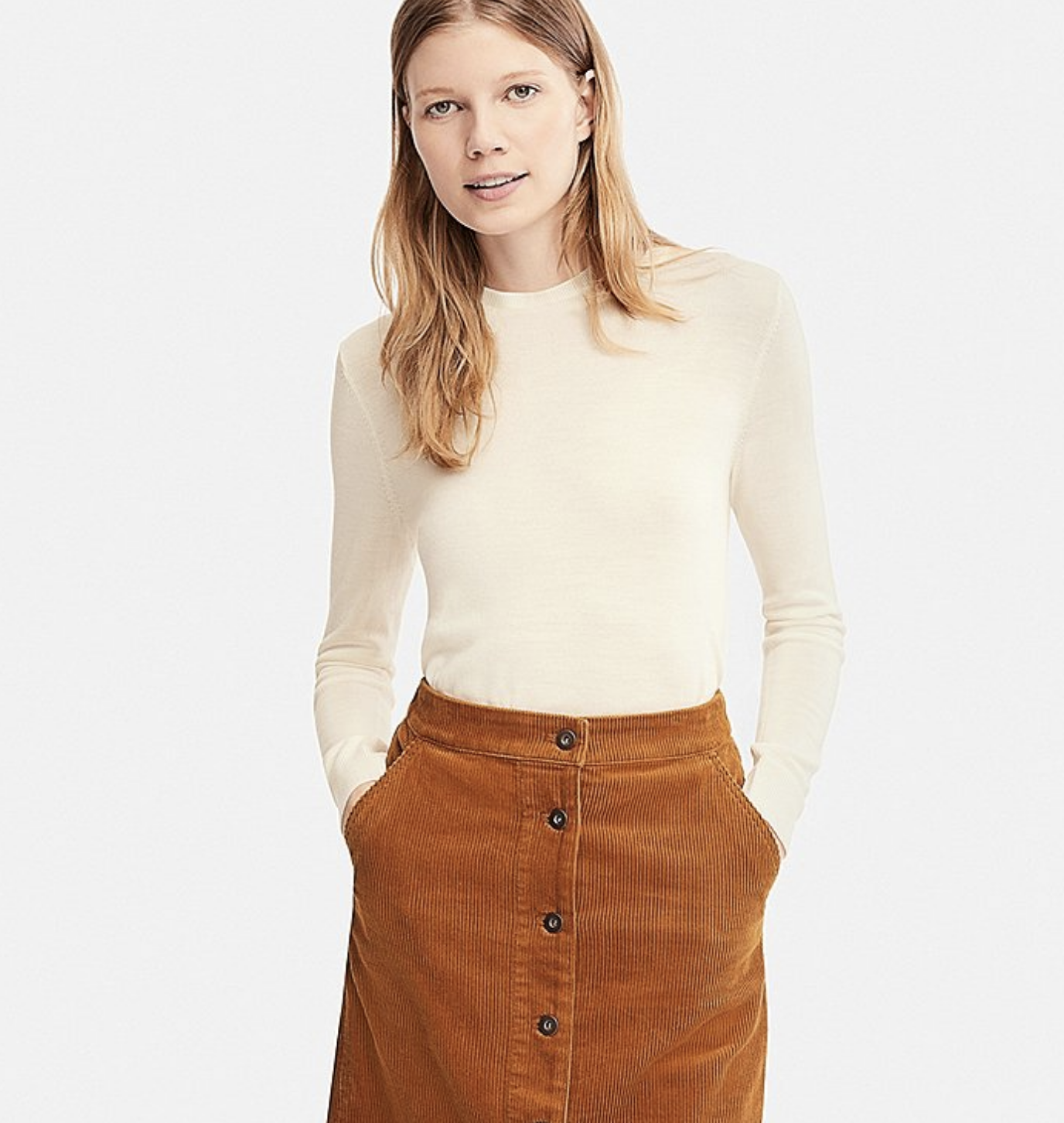 uniqlo thermal top lizzie edwards image consultant london