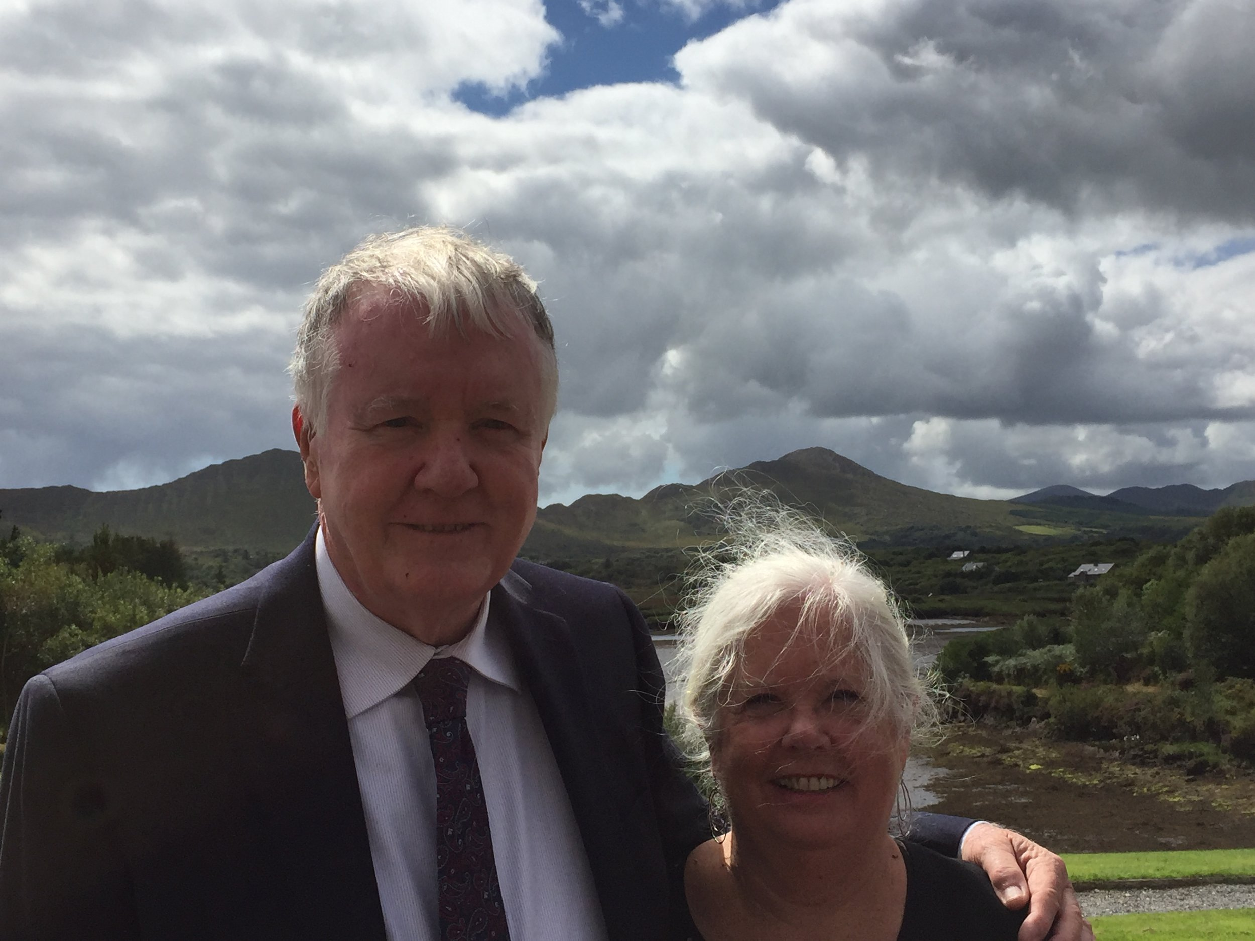 Mary & Jim Casey, on a trip to Ireland in 2017