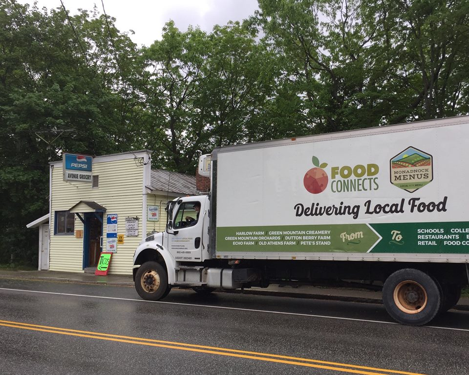 Food Connects, a nonprofit food distribution hub based in Brattleboro, delivers locally produced food and farm products to independent stores, schools, health care facilities, and colleges in New England.  Photo by Food Connects.