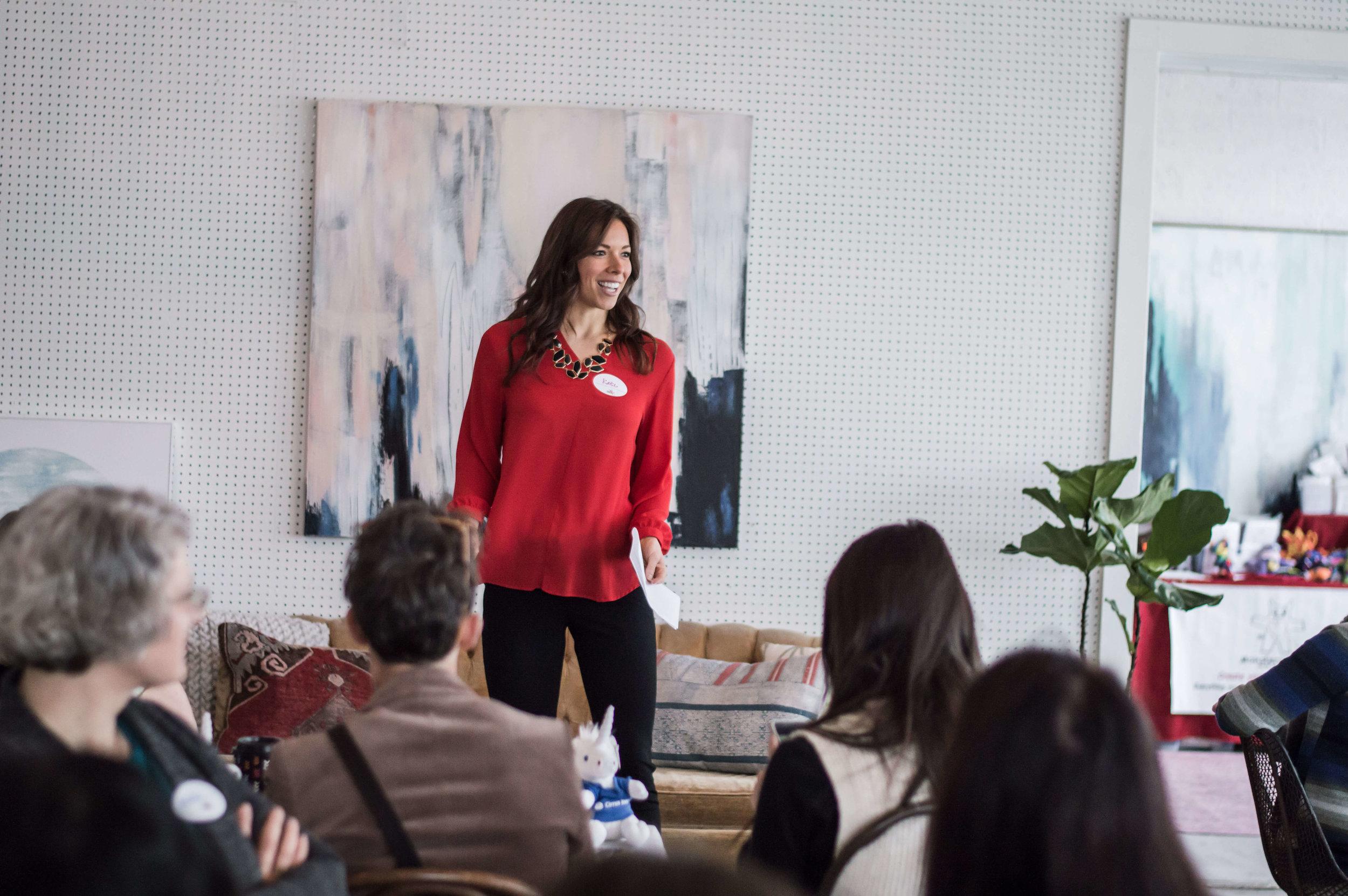 Motivational Speaker, Kate Ziegler — Kate Ziegler
