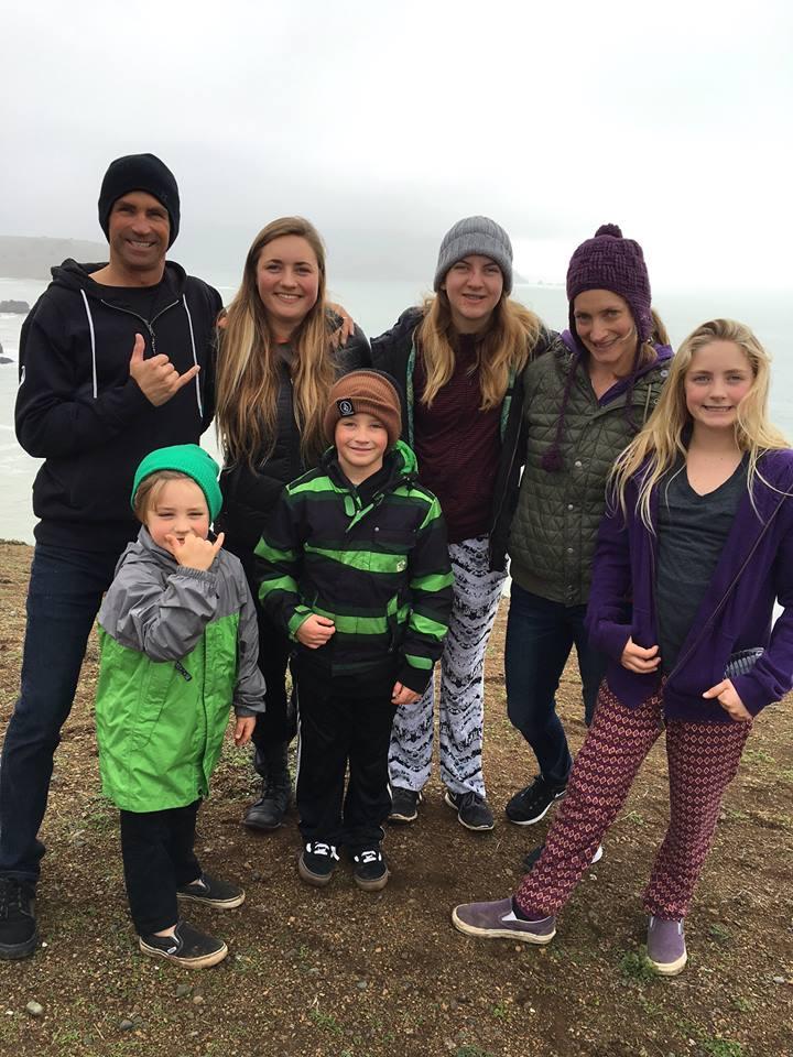 Beloved family of Santa Cruz surfers... The Bartlett's.