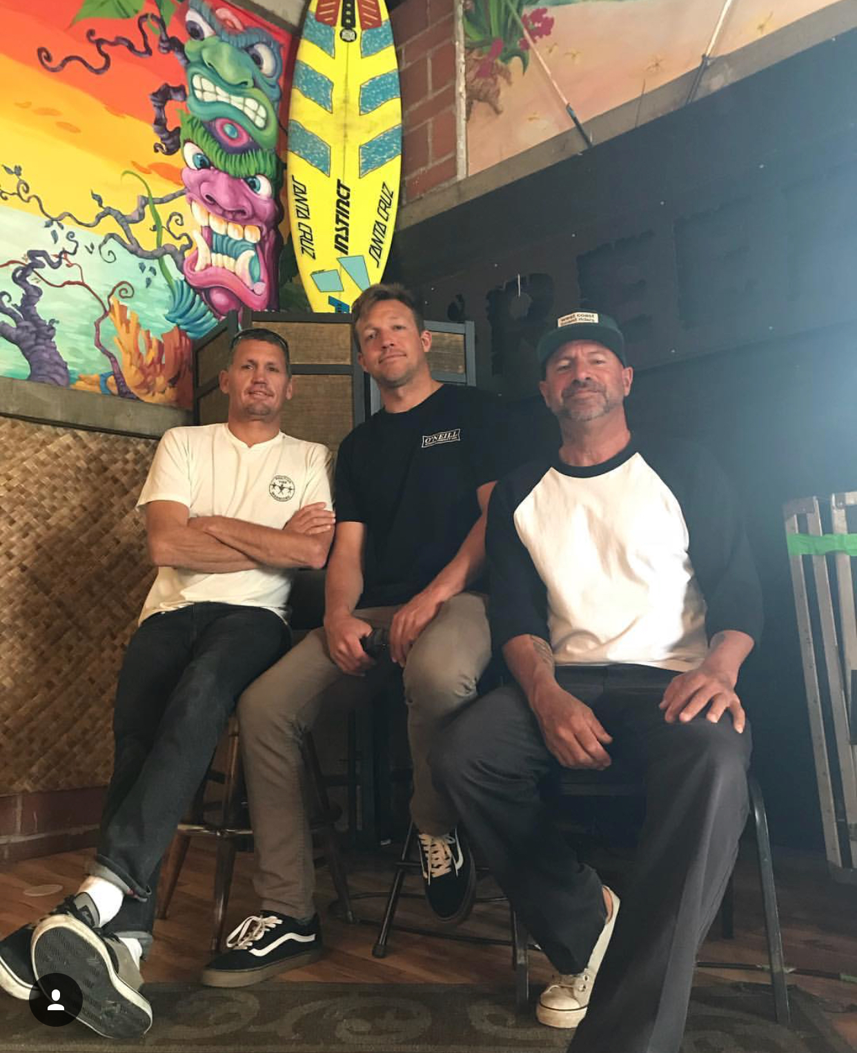 We will be welcoming Flea, Ruffo, and Shane Skelton in studio to talk about the newly formed Santa Cruz Boardriders Club.