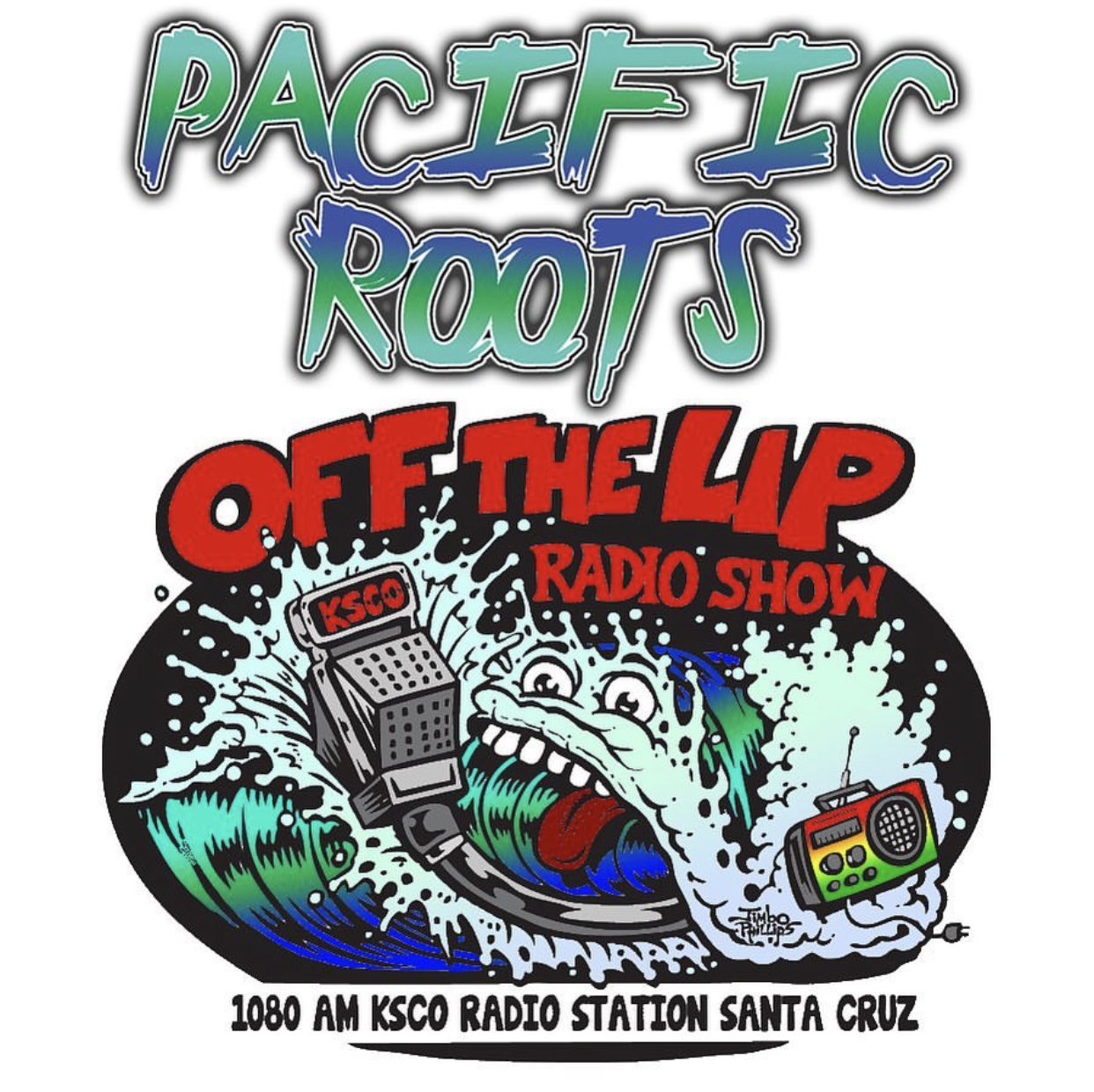 Santa Cruz Reggae band Pacific Roots will be live in Concert on the Off the Lip Radio Show