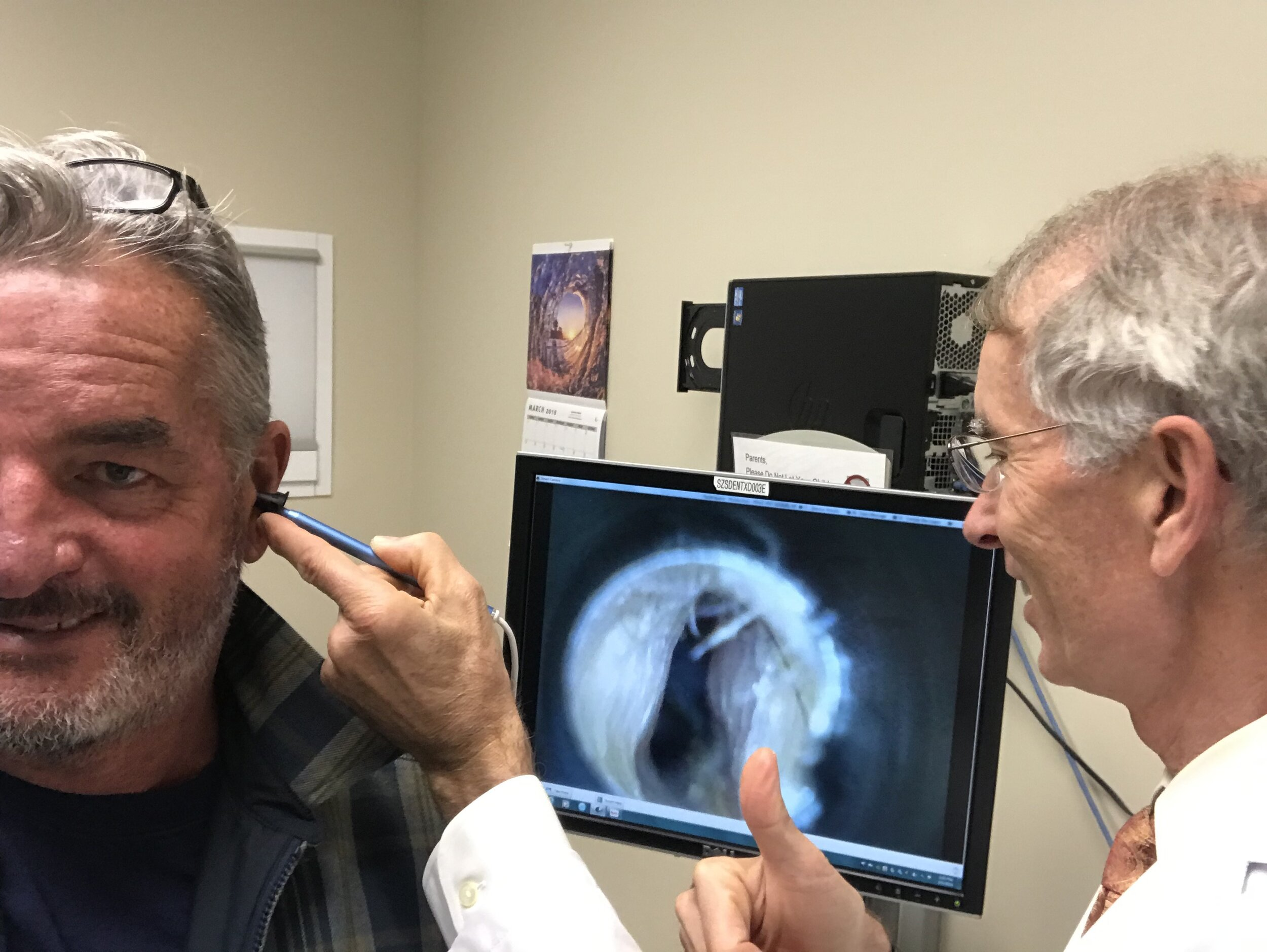 He is the Guru of Surfer's Ear, and makes his annual appearance on the Off the Lip Radio Show, and will once again offer FREE surfers ear check ups.