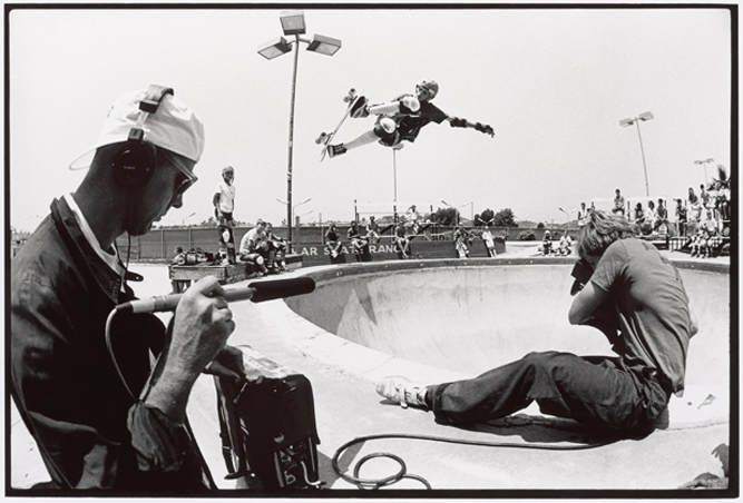 Craig Stecyk, Tony Hawk, Stacy Peralta, - Del Mar Skate Ranch