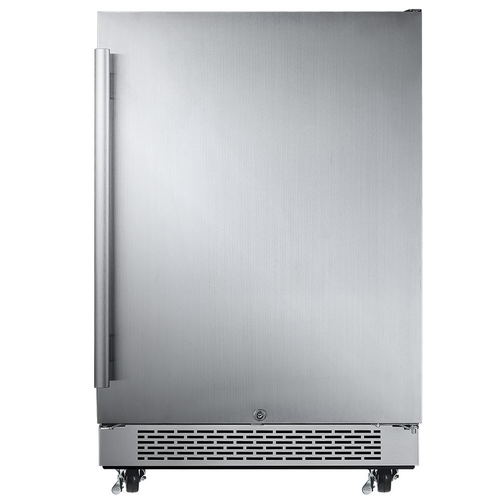 AFR241SSOD Avallon 5.5 Cu Ft Built-In Outdoor Refrigerator
