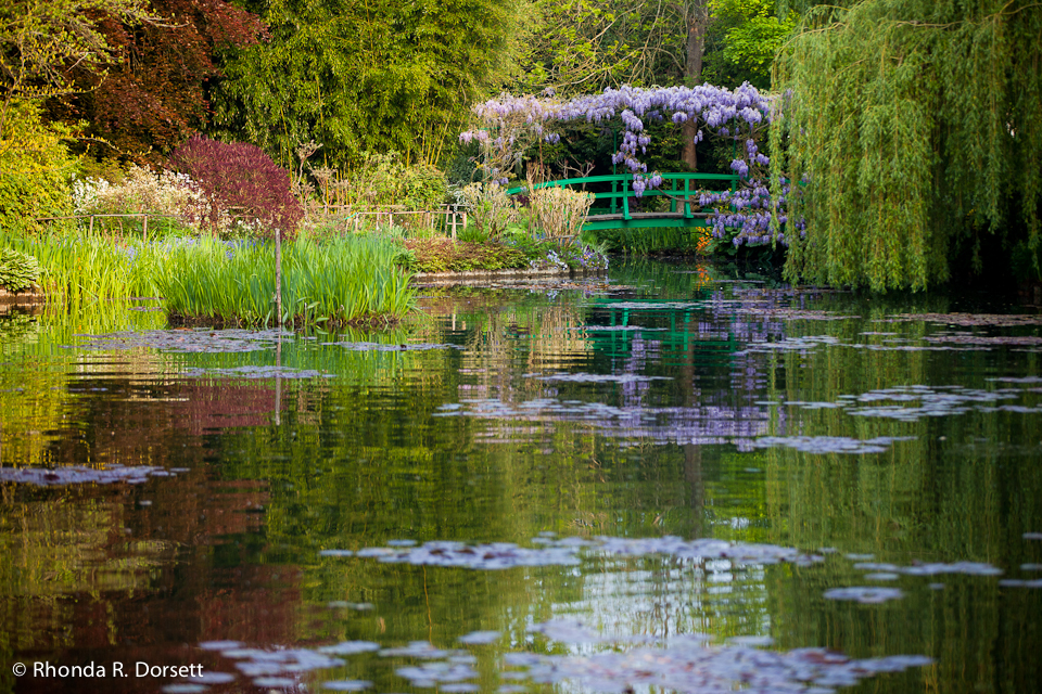 Monet's Bridge in Giverney, France       Featured photo for Large Format demonstrating Fine Art Paper