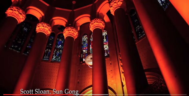 The Sun Gong Rising in the Cathedral