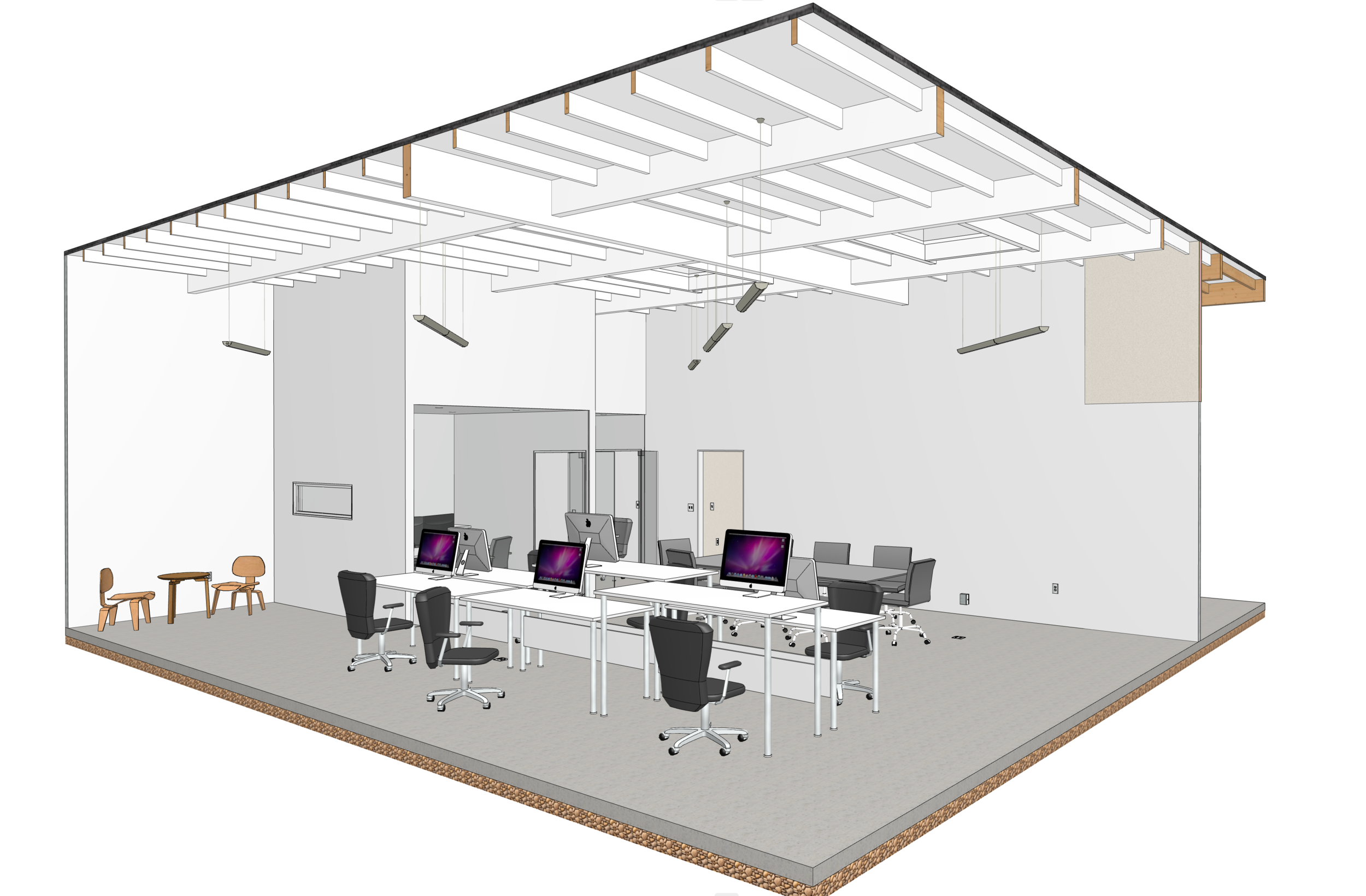 New Headquarters - We're expanding our footprint - scaling up from a one person operation to an integrated Design-Build practice with 2-3 design staff, support staff and Construction Management Services with Mission City Construction under one roof!