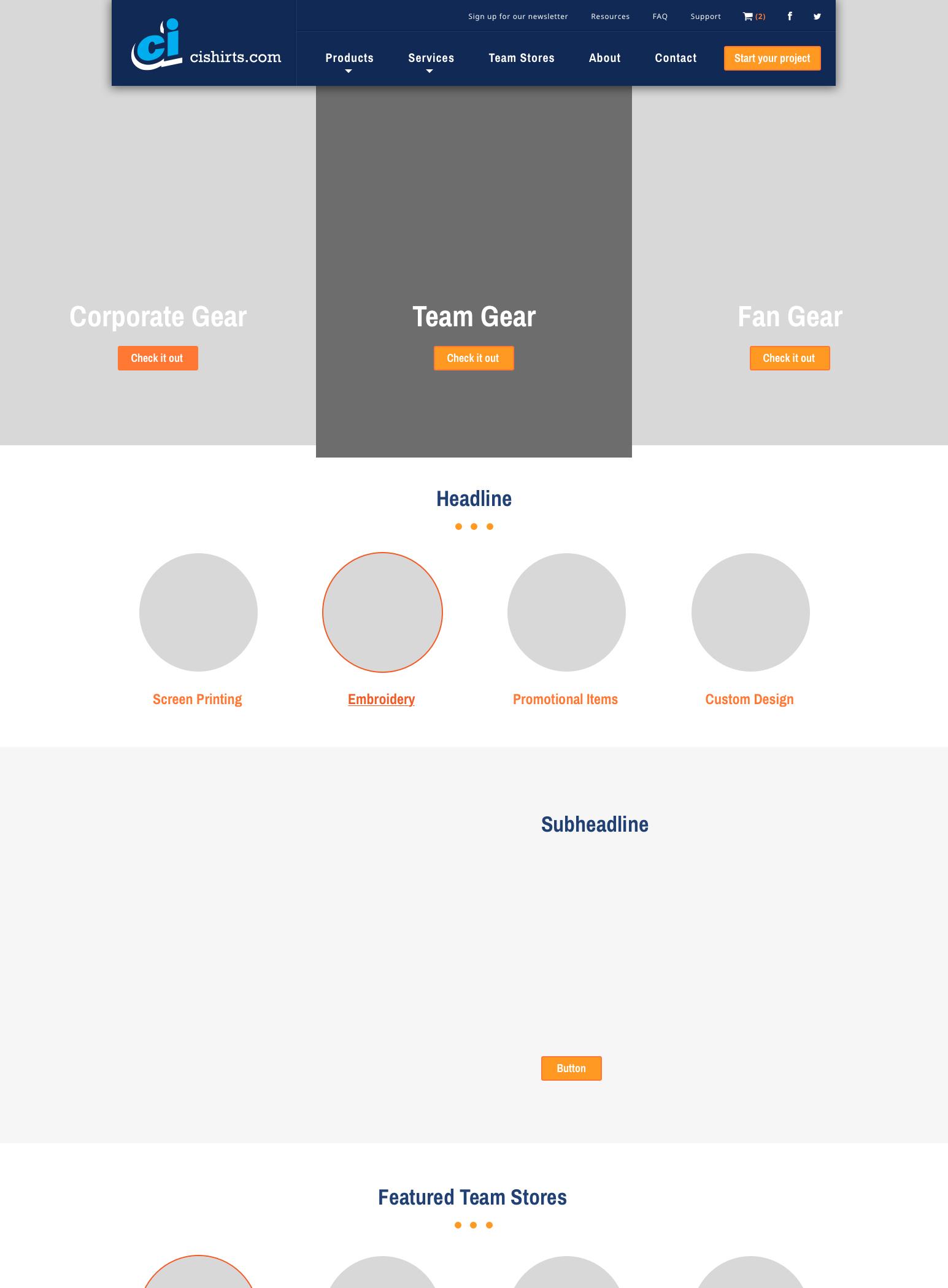 Ci Shirts Home Page