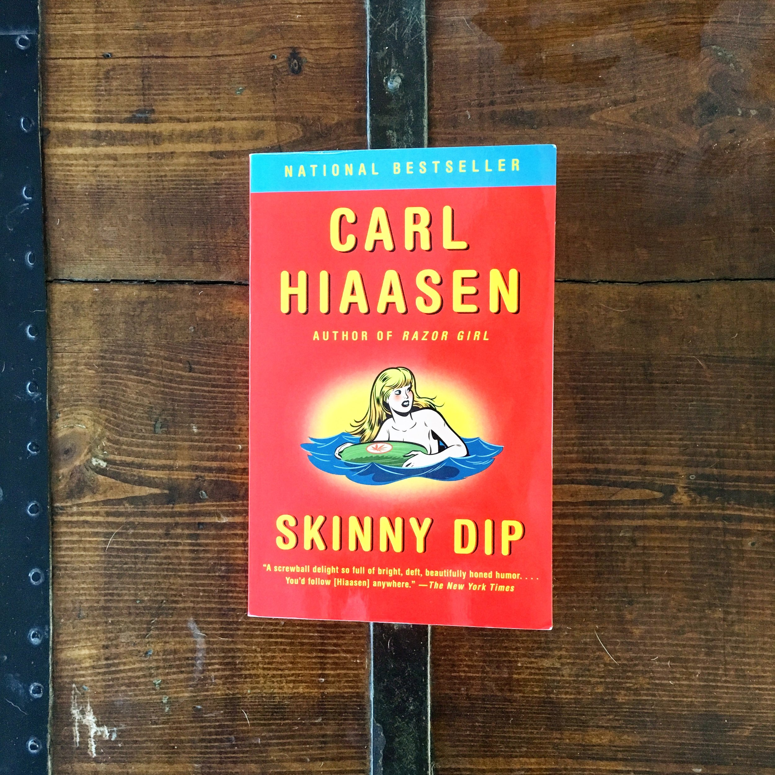 Skinny Dip by Carl Hiaasen - From My Wife