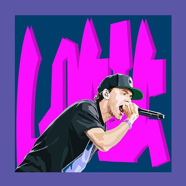 @logic301 digital painting. #logic #rattpack #rap #hiphop #rapart #hiphopart #painting #digitalpainting #wacom