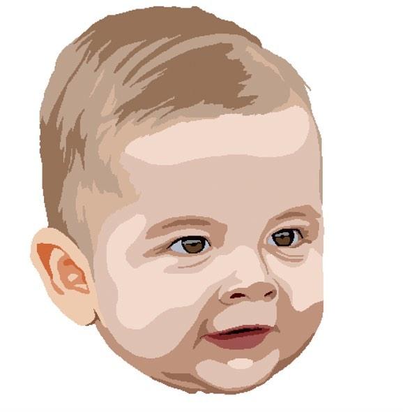 The best subject. #jackson #baby #drawing #Wacom #art
