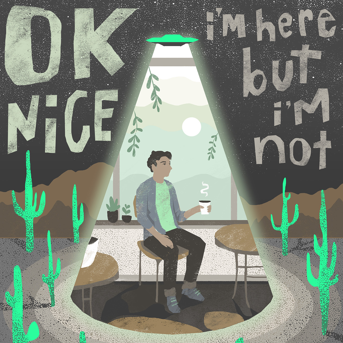 I'M HERE BUT I'M NOT - OKNICE