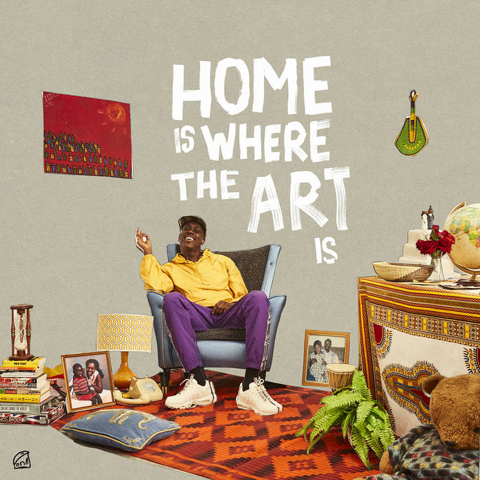 HOME IS WHERE THE ART IS - BARNEYARTIST