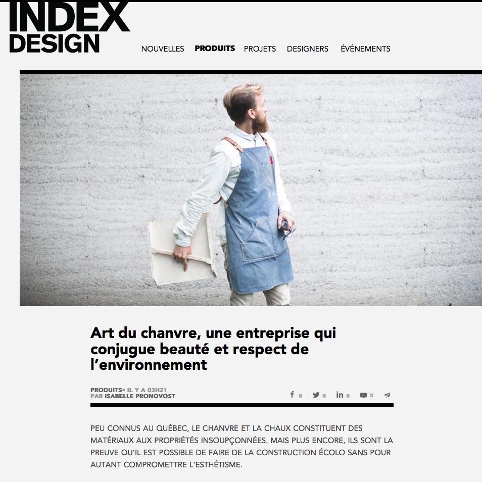 INDEX DESIGN, Mars 2017