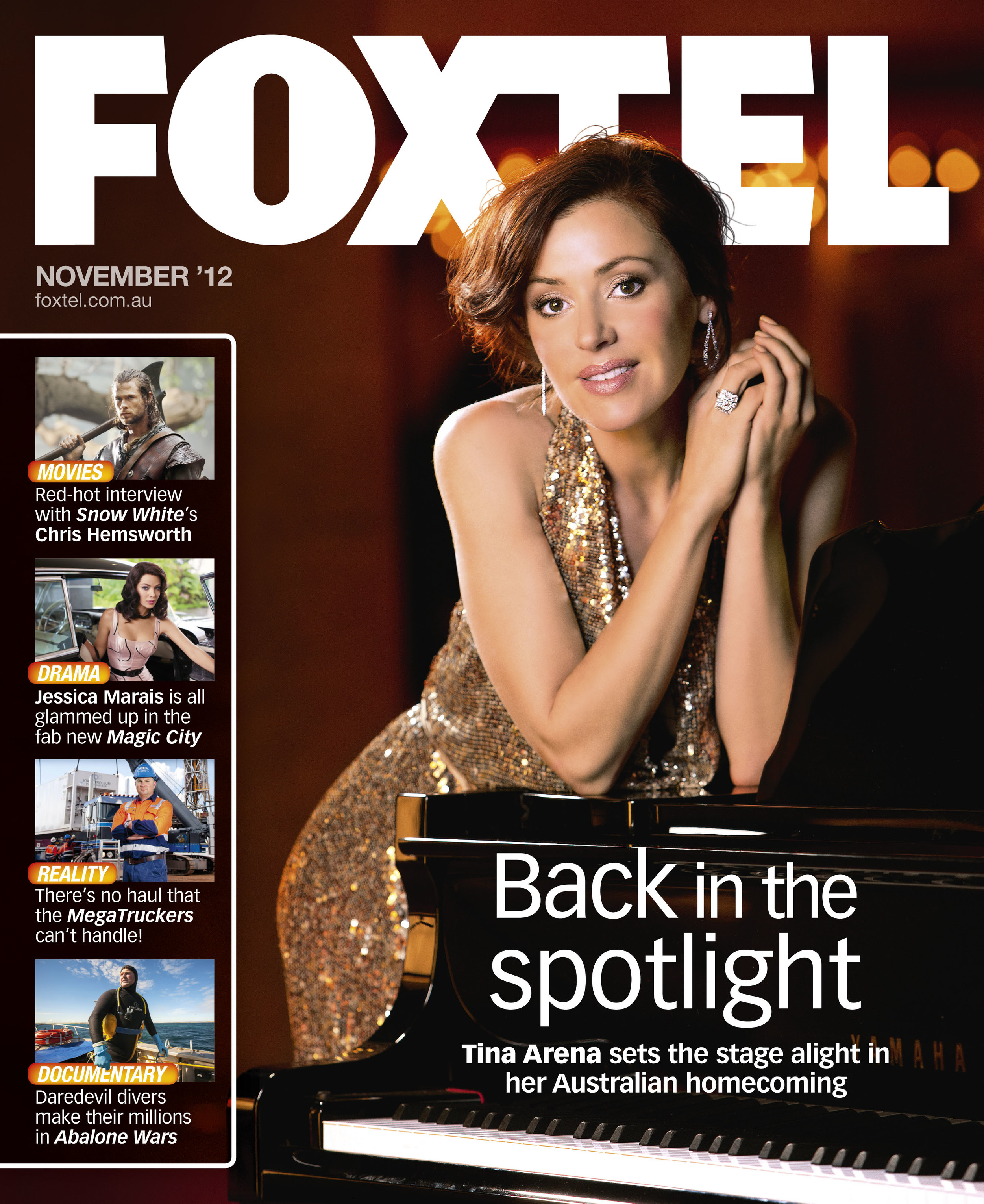 Tina Arena for Foxtel