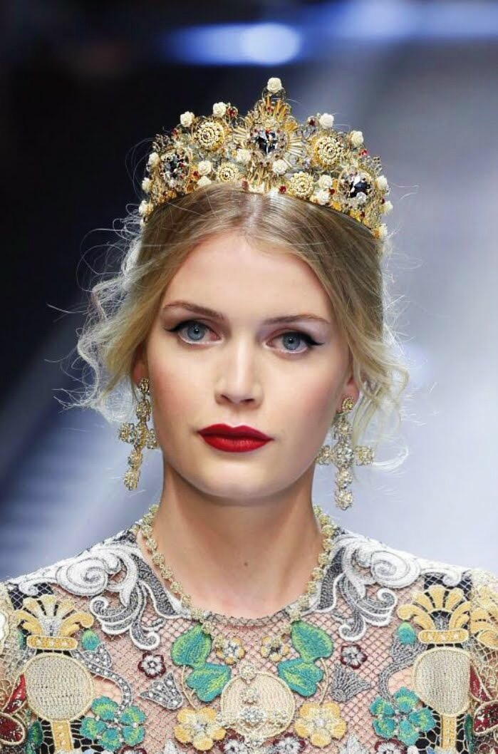 Kitty Spencer for D&G