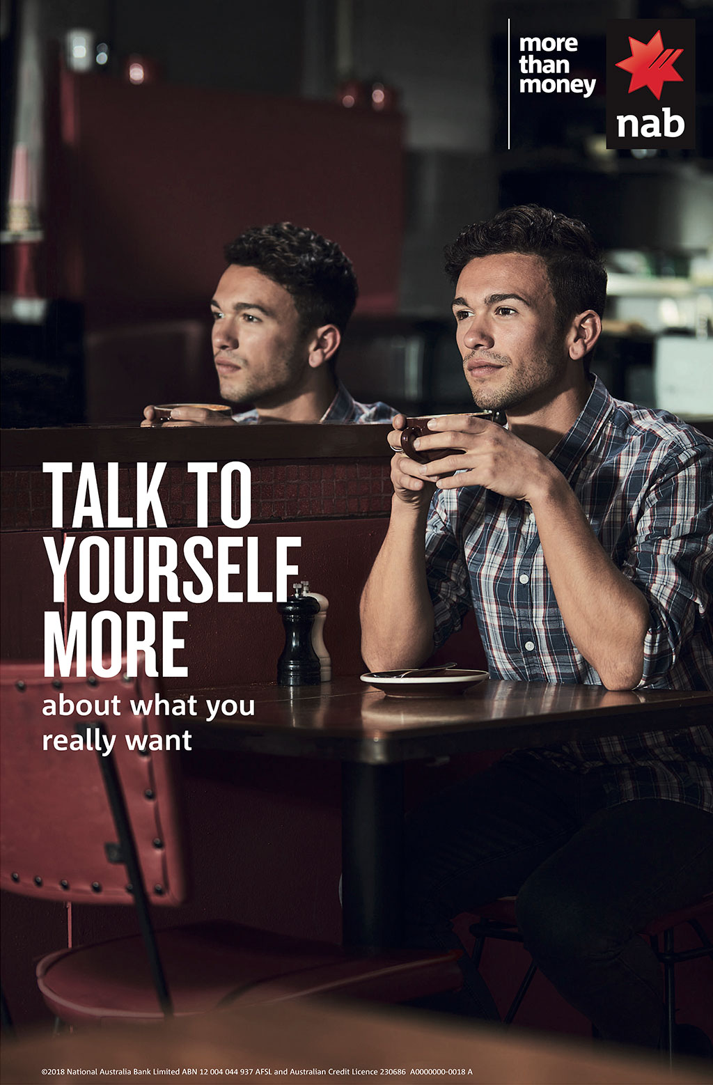 NAB Talk to Yourself More Campaign