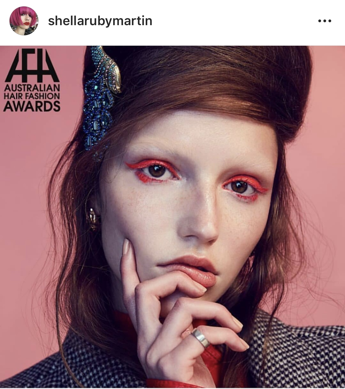 AHFA 19 FINALIST Makeup Artist of the Year