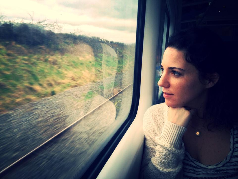 mary on train.jpg