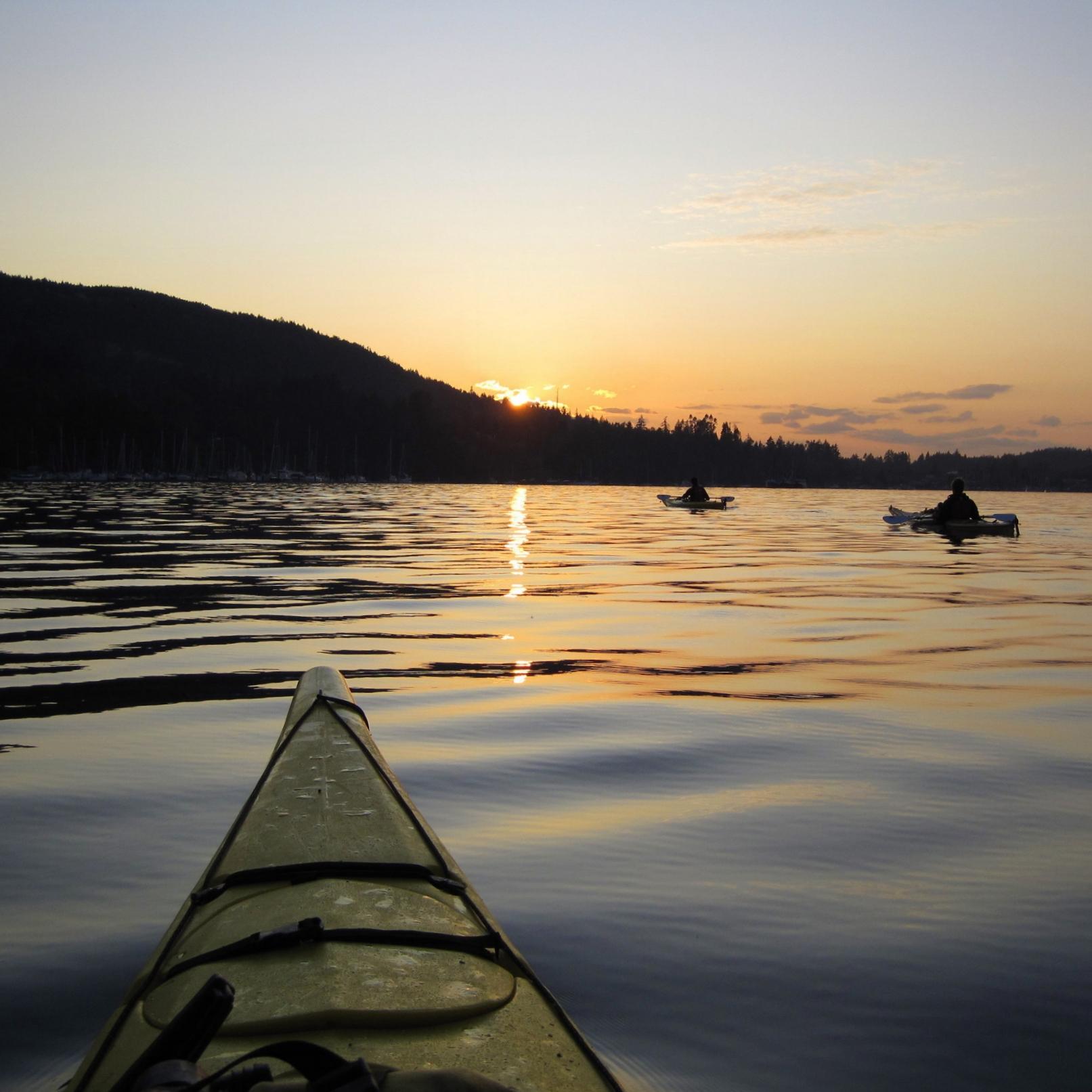 Kaye, Jennifer - Sunset Paddle.JPG
