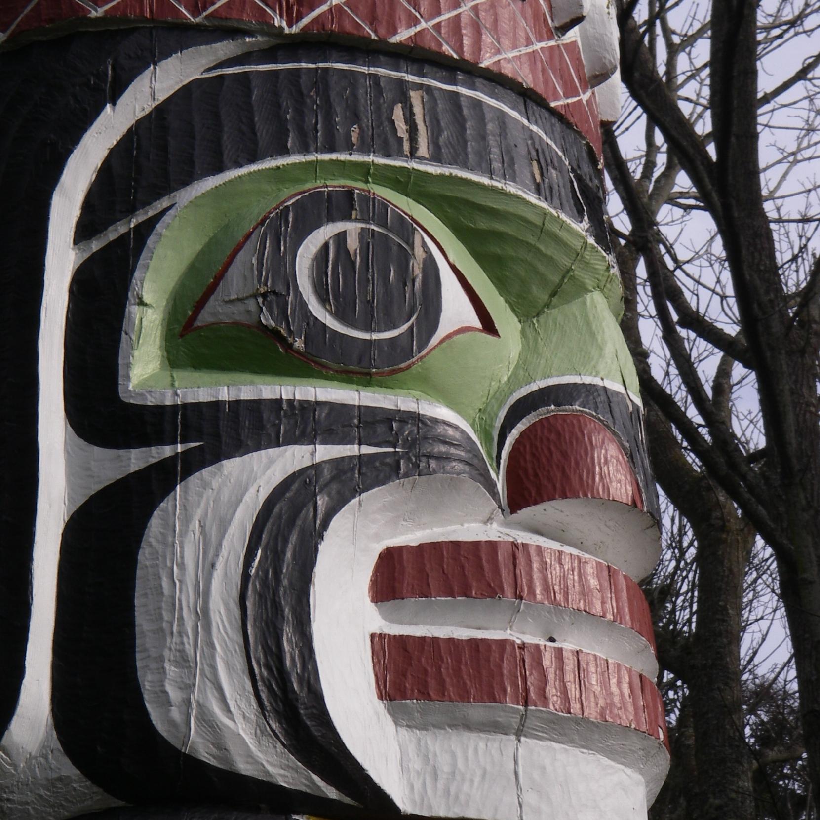 Nygren, Susan - Totem Pole at Beacon Hill Park.JPG