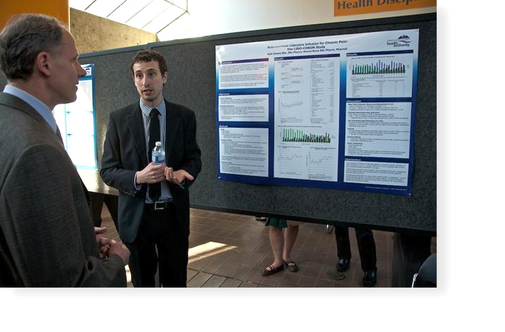 Resident Presenting At Residency Research Night at UBC