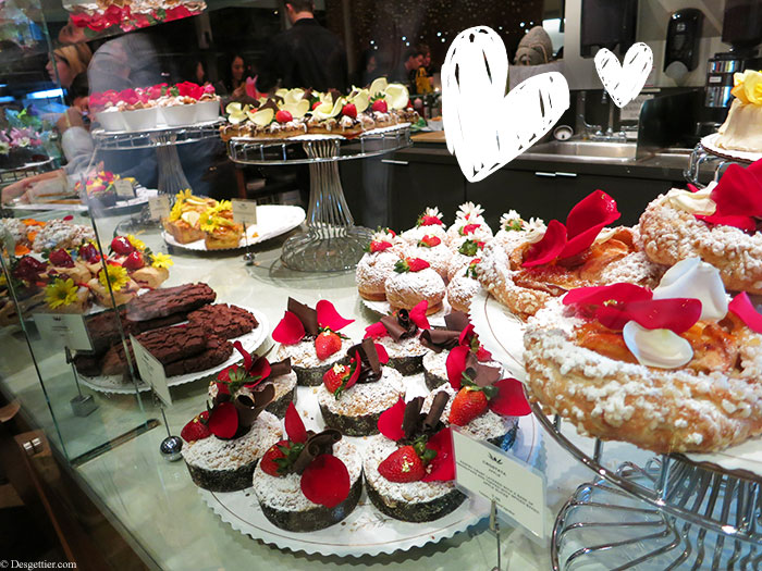 My favorite part about the holiday would be all the gastronomy involved. May your Valentine's day be filled with beauties akin to those from the Extraordinary Desserts Bakery.
