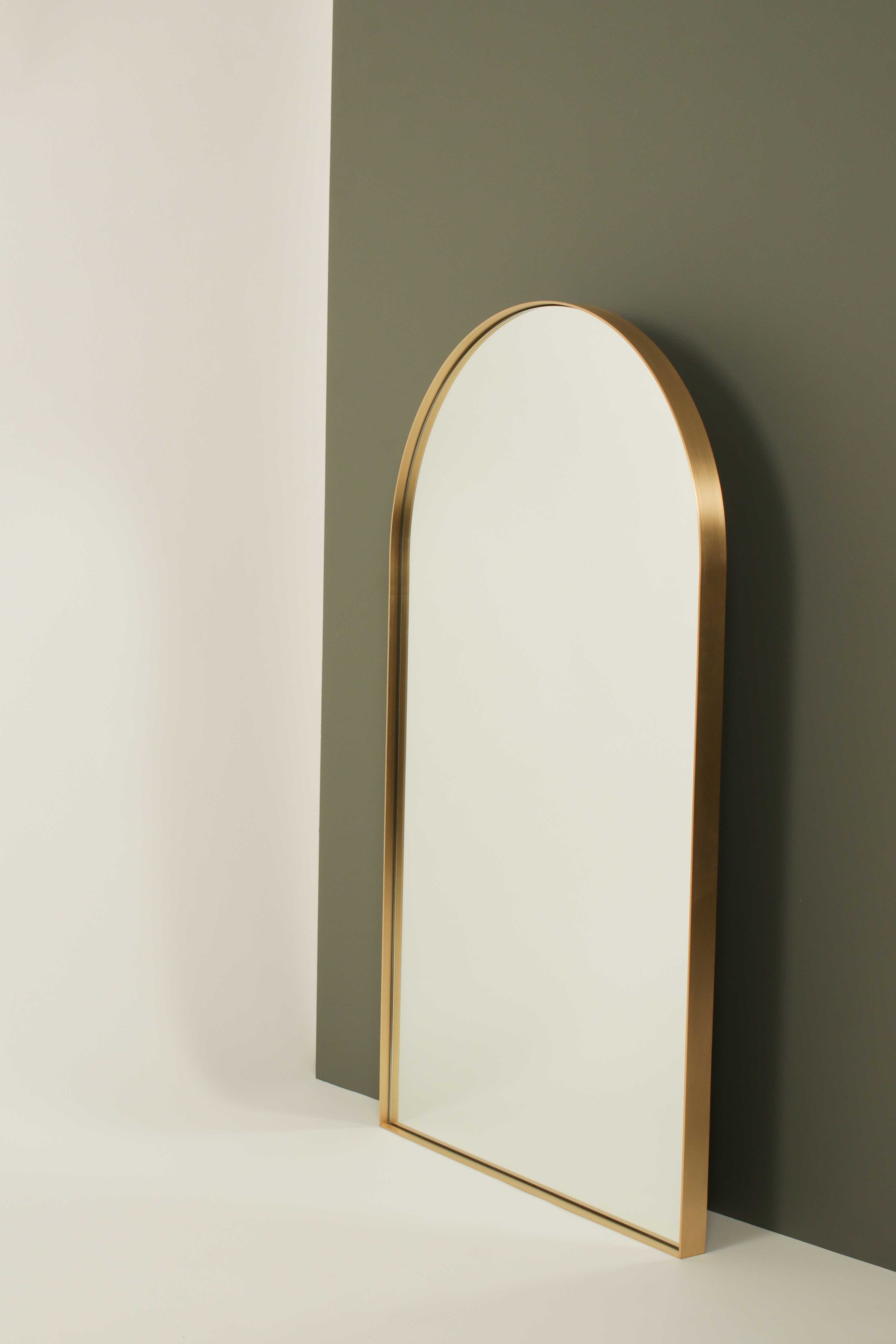 Brass Arch Mirror Powersurge