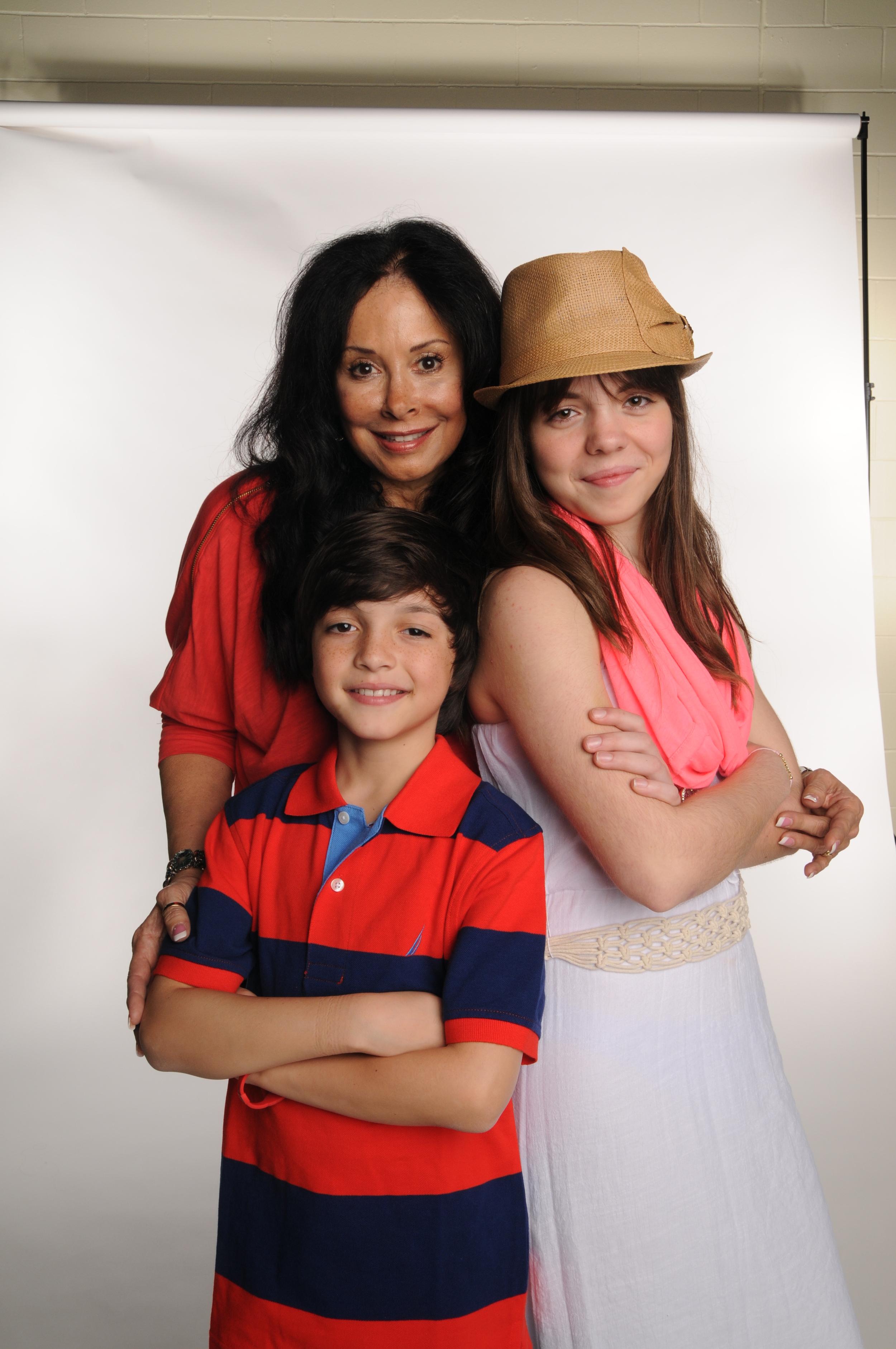 Geri, Jacie and Jaden
