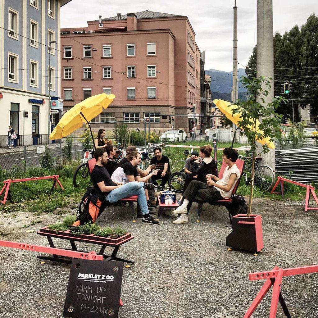 #Parklet2go Warm Up Night. 17 August 2019. Innsbruck, Austria.